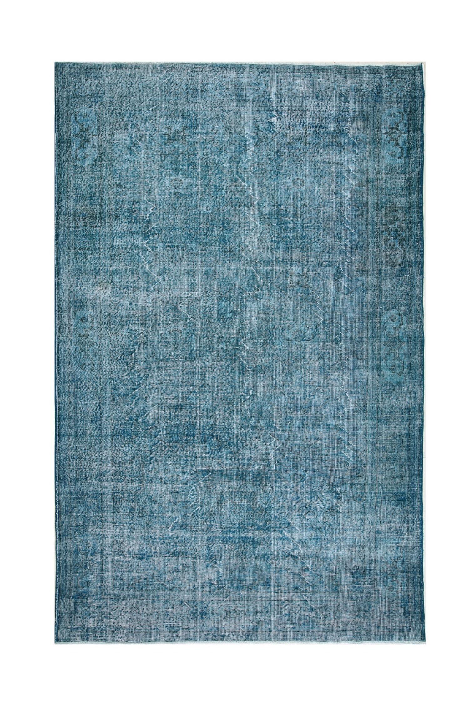 Vintage Overdyed Blue 6487