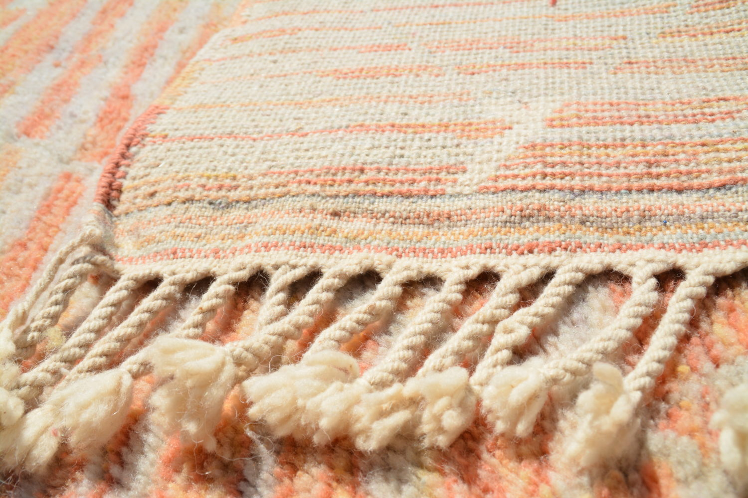 One-off Moroccan rugs sourced from a trusted supplier.