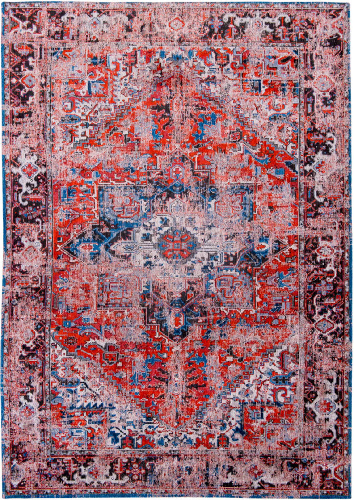 Antiquarian Antique Heriz - Classicbrick 8703