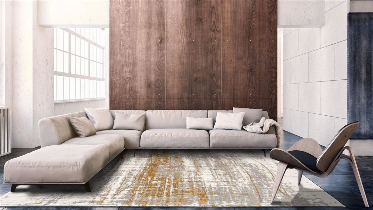 Add art to your floor with this sumptuous Copperfield version of the Mad Men Griff.