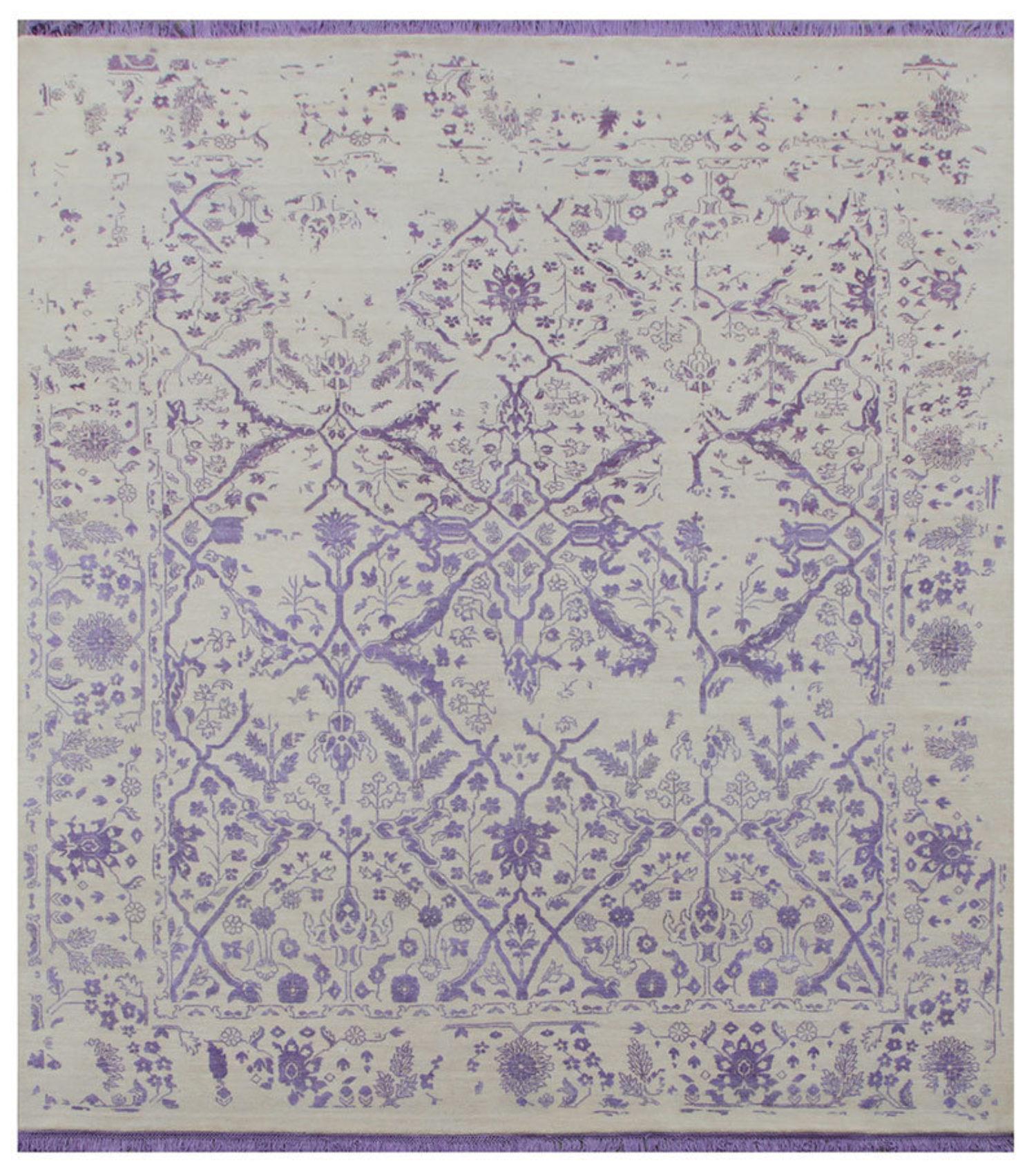 Rajasthan in Gentle Violet