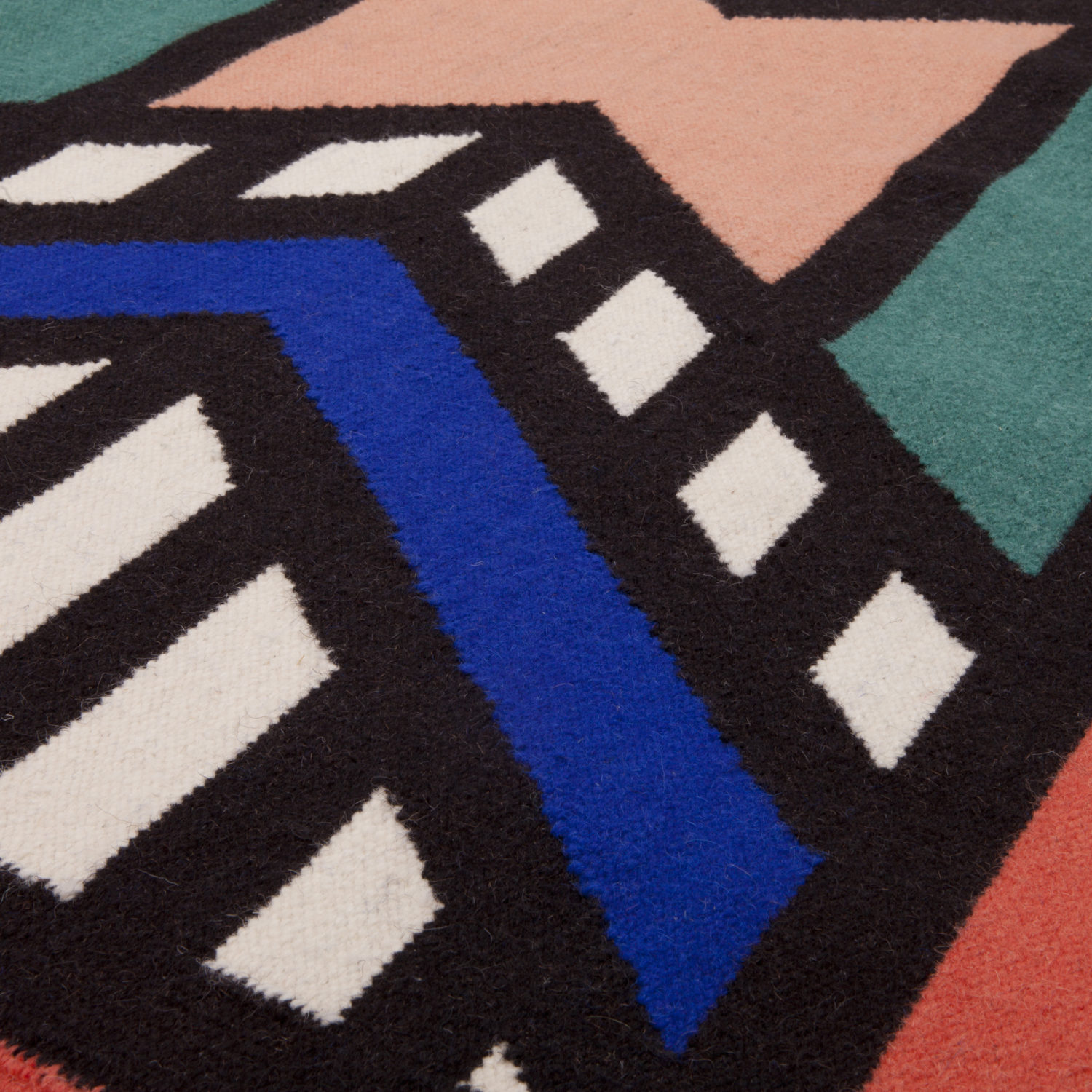 Fixed is inspired by the Ndebele tribe's bright house painting, passed through generations of women