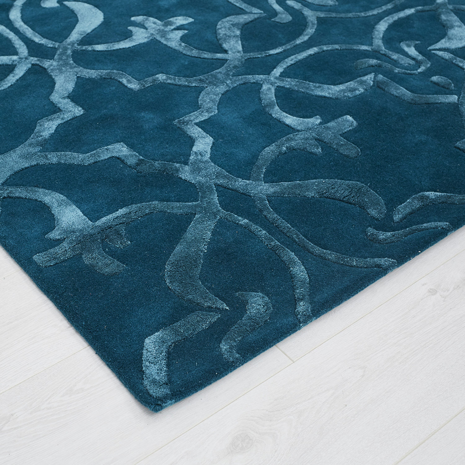 A delightful rug inspired by the hidden treasures discovered in property restoration