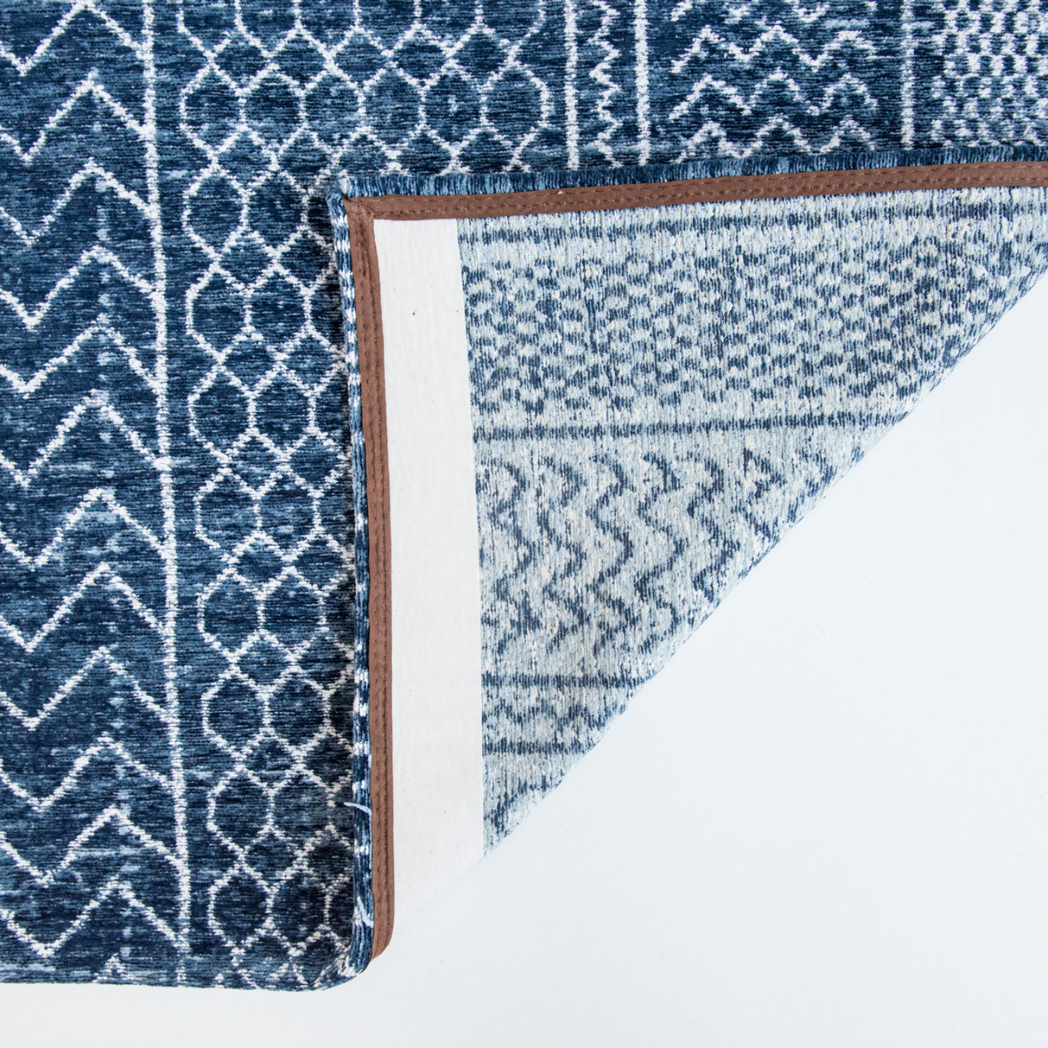 Whimsical motifs made of tribal patterns of the Atlas region