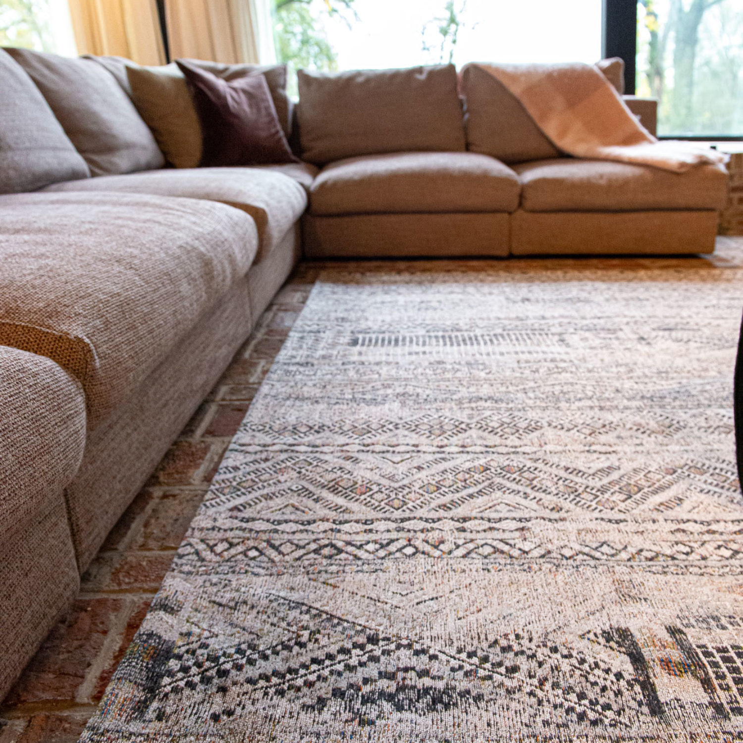 A classic Moroccan nomad pattern