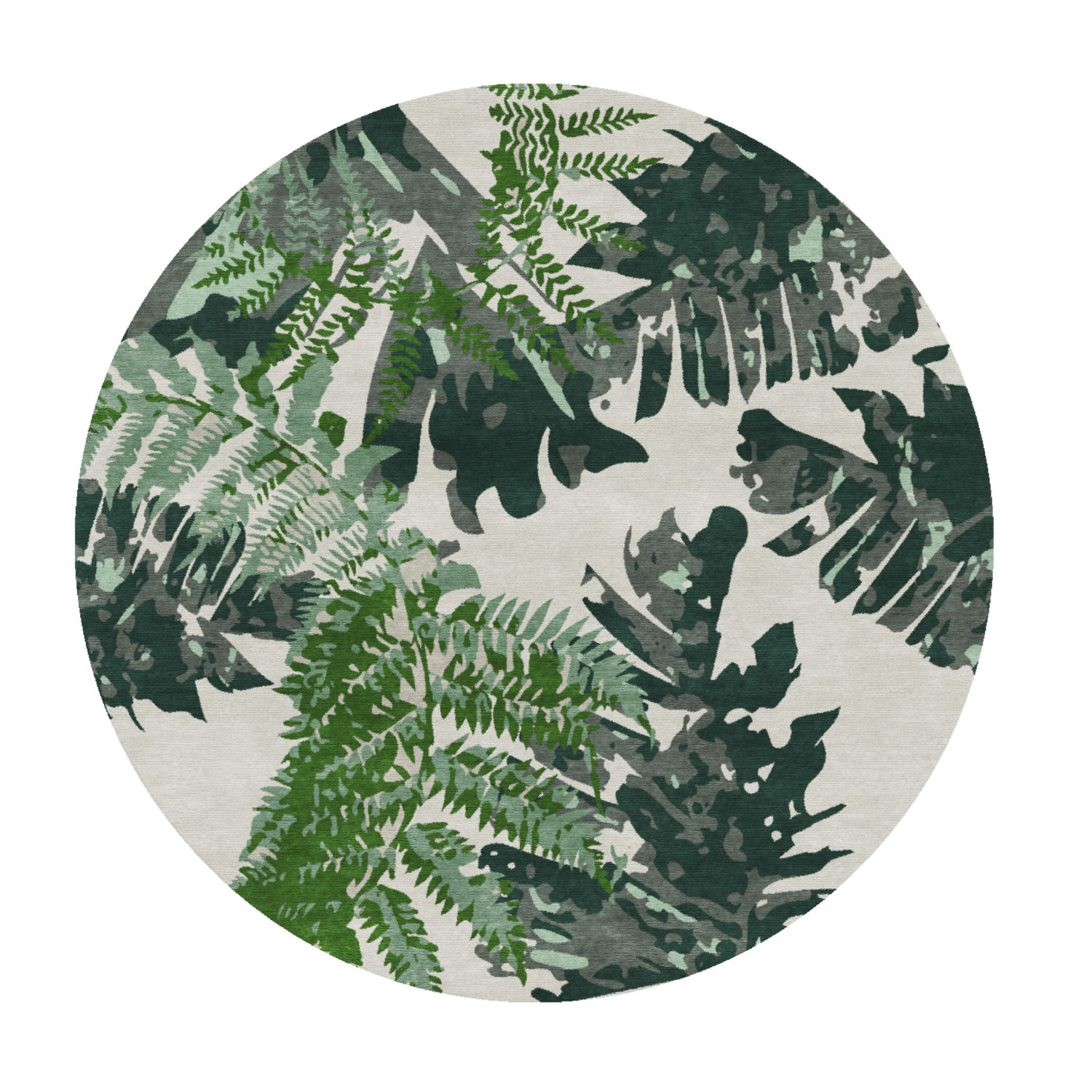 If you love tropical prints, then this is the rug for you