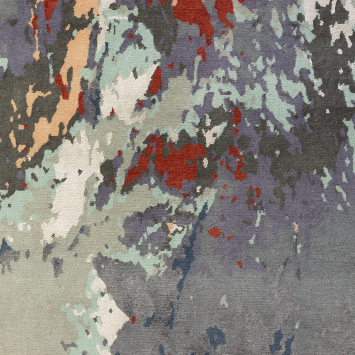 An abstract design with a painterly feel that's wonderfully expressive