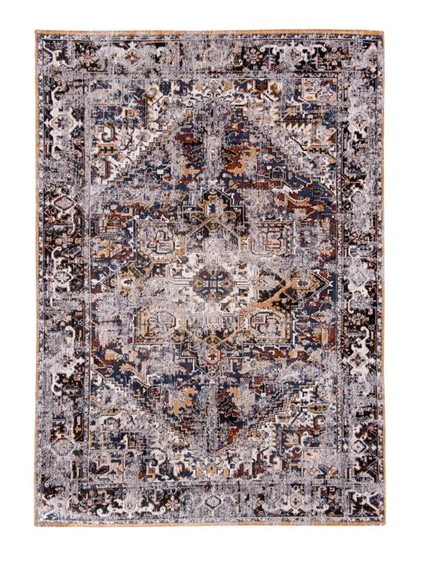 Antiquarian Antique Heriz - Divan blue 8707