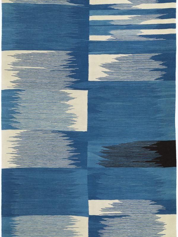 Dalga Kilims Collection - Blue Sinasos