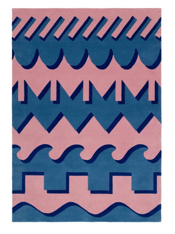 Dipylon Pink and Blue