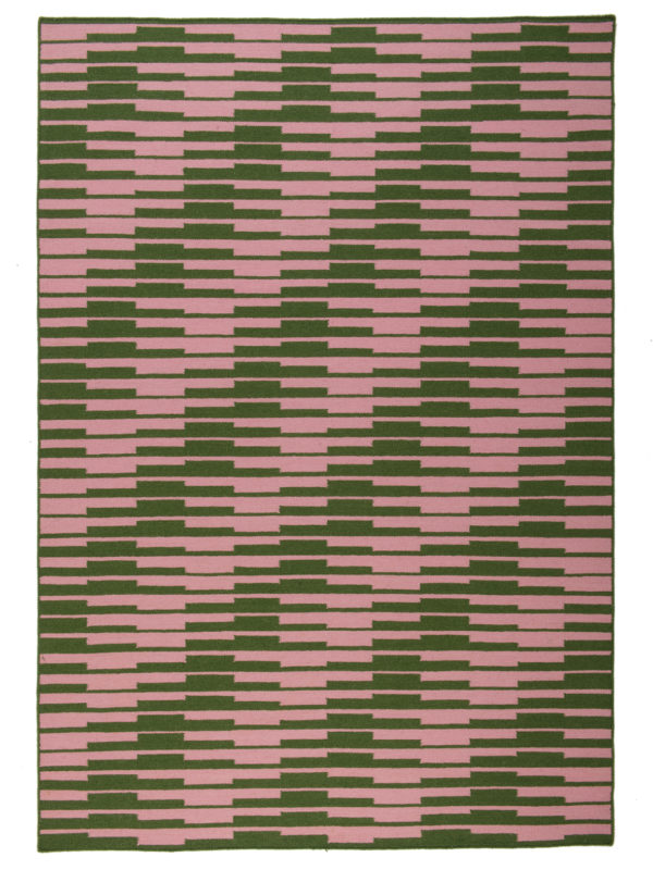 Solstice in Pink and Green
