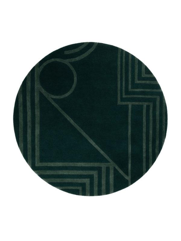 Path in Green Circle