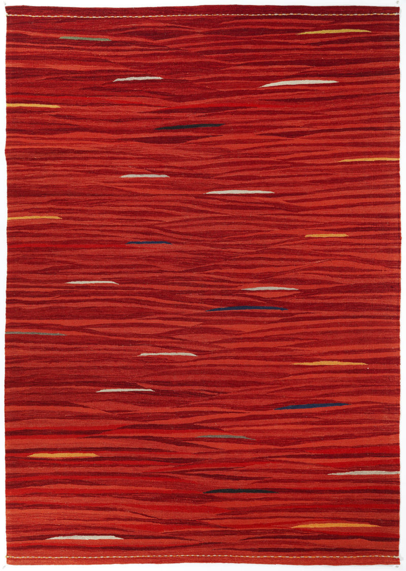 Manzara Kilims Collection - Gelincik Red