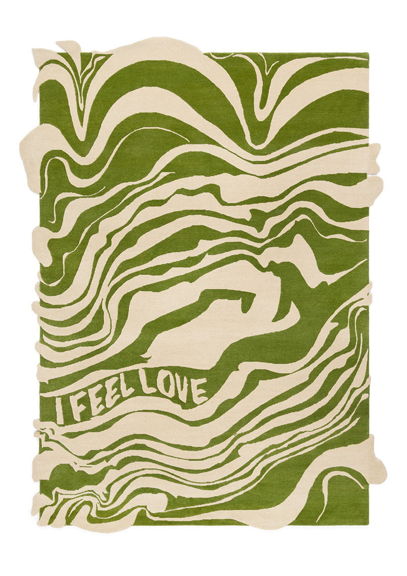 I Feel Love Green