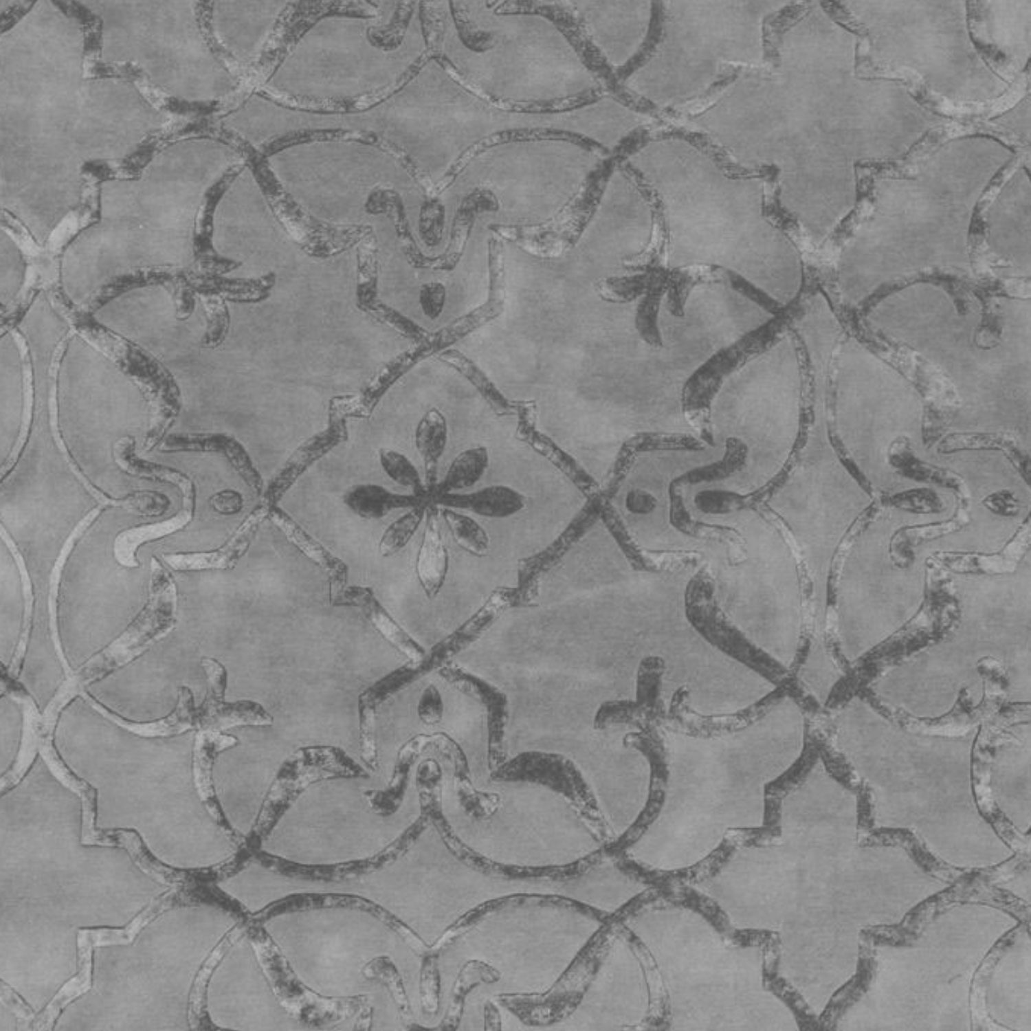 Inspired by old embossed wallpaper from the 19th century.