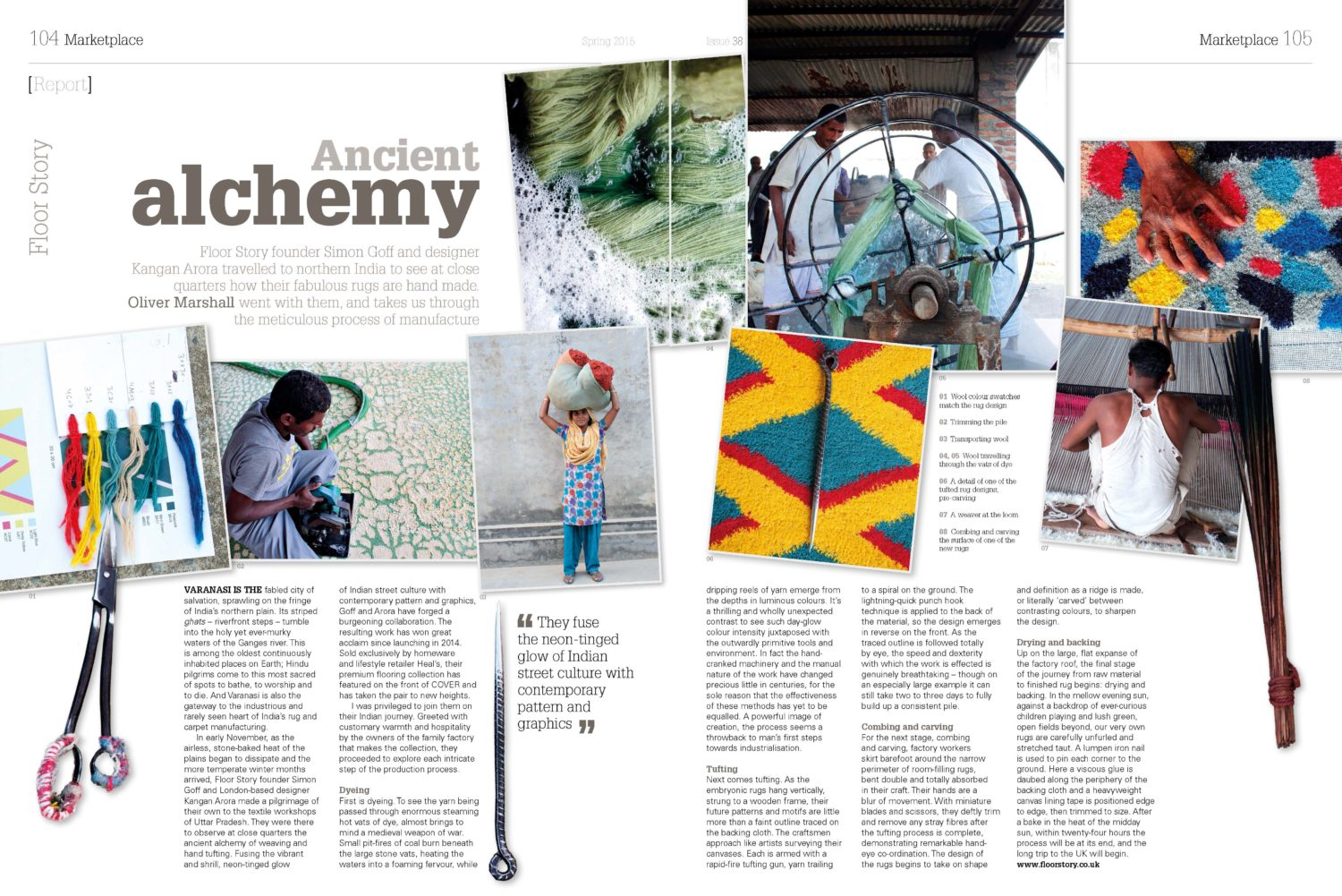 Ancient Alchemy in Cover Magazine