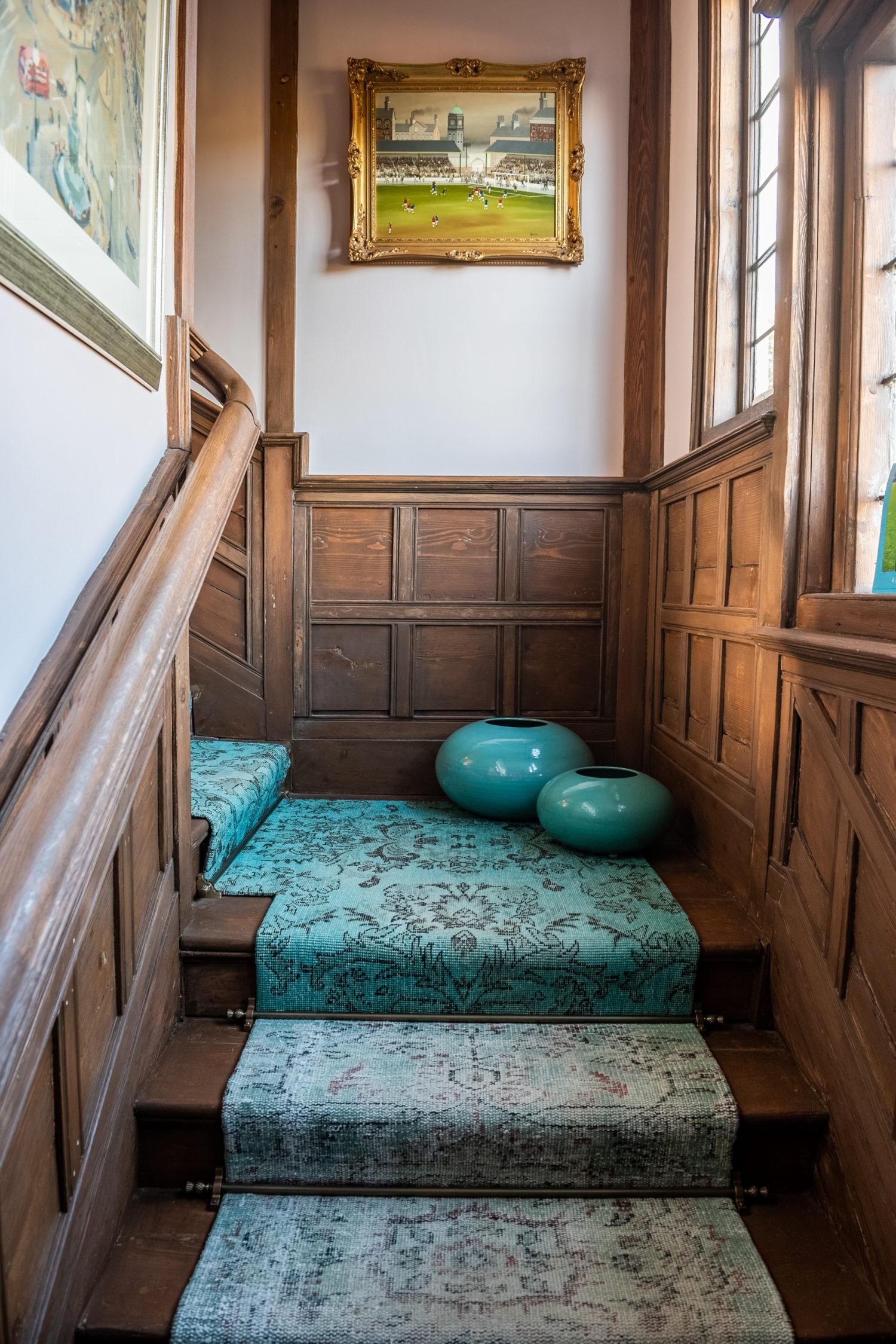 Emilie Fournet Interiors - Vintage Rugs Ombré