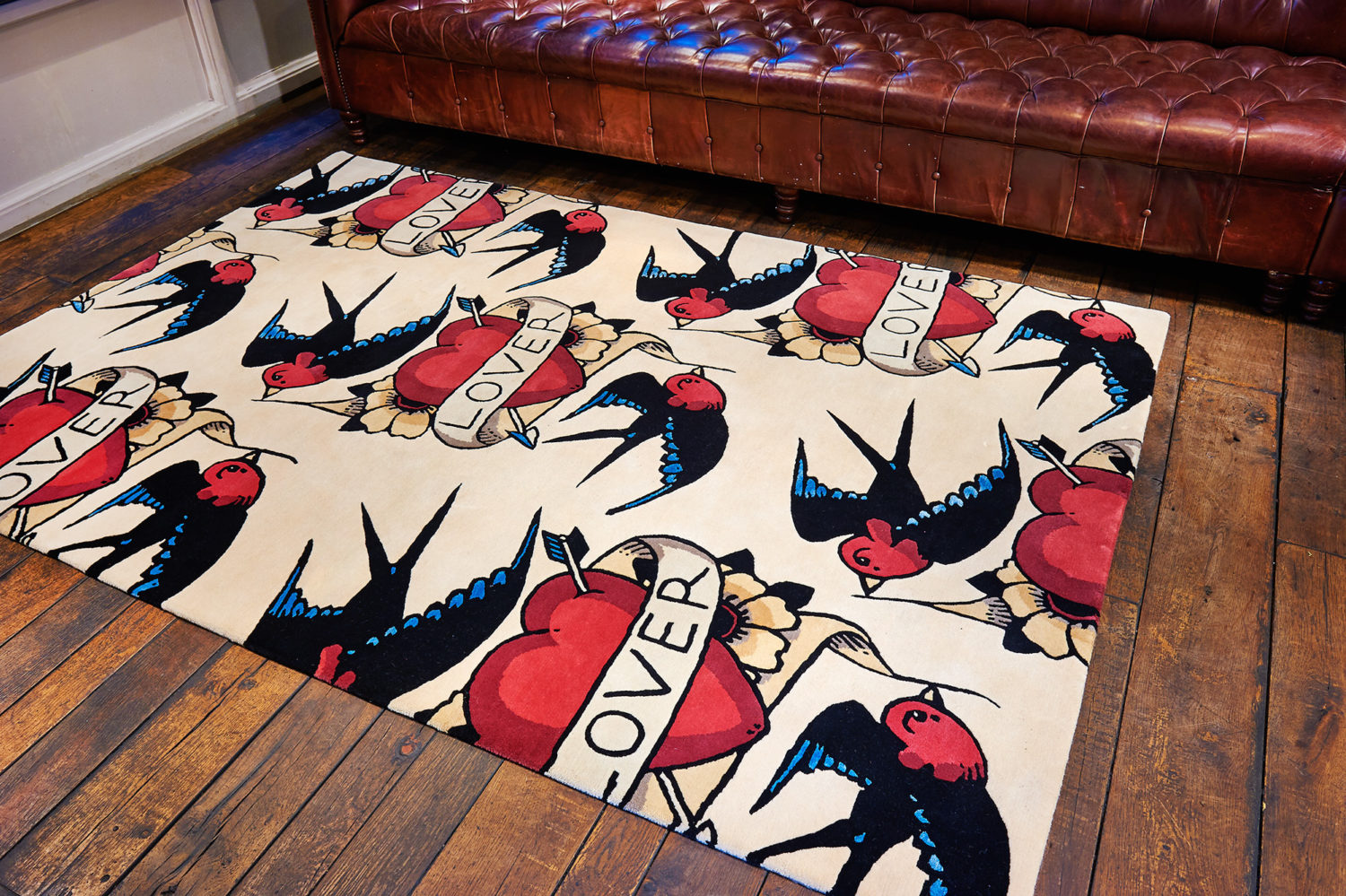 Never mind the mortgage what about a rug