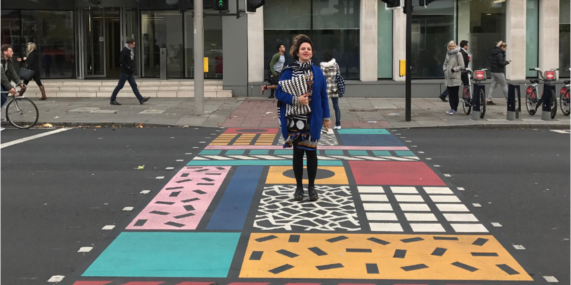 Camille Walala tells of her life in London