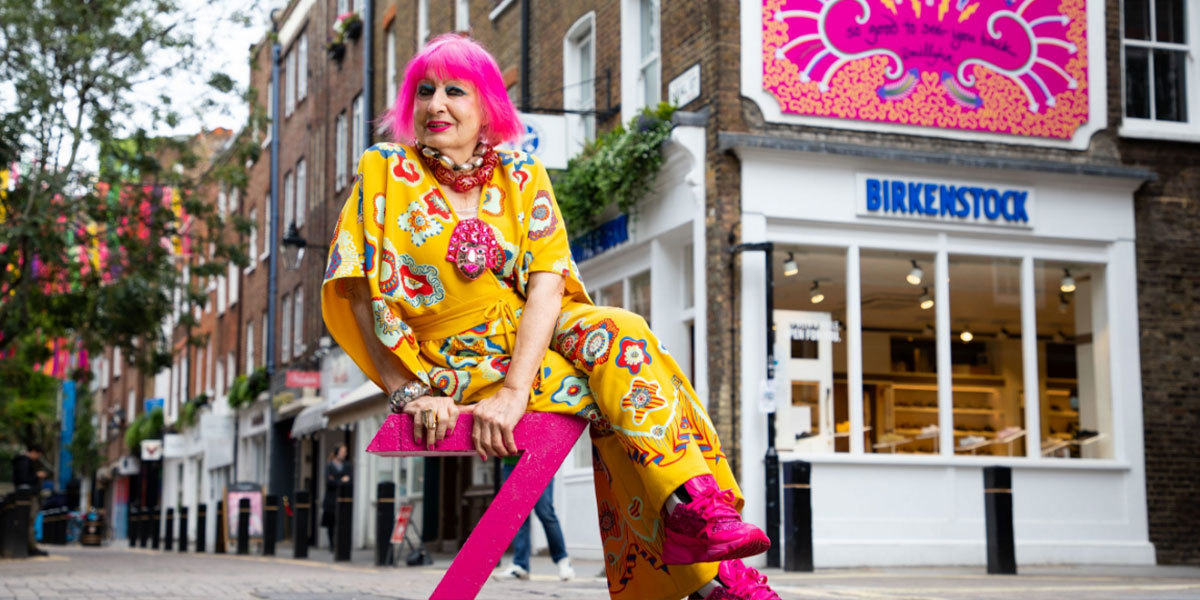 Zandra Rhodes x Seven Dials London
